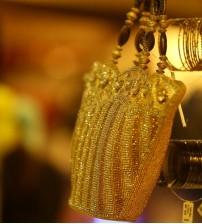 Gold Bright Wedding Hand Bag