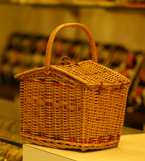 Wooden Carry Bag