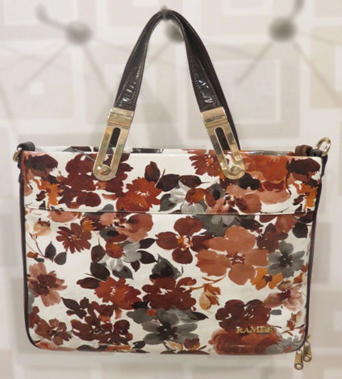 Ramee Printed Flower Ladies Shoulder Bag