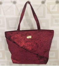 Espelho Grape Red Ladies Shoulder Bag