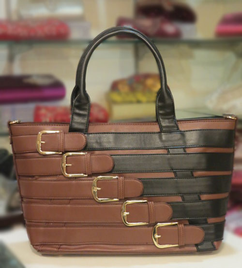 Black Chocolaty Ladies Hand Bag