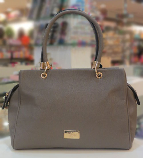 David Jones Gray Ladies Hand Bag