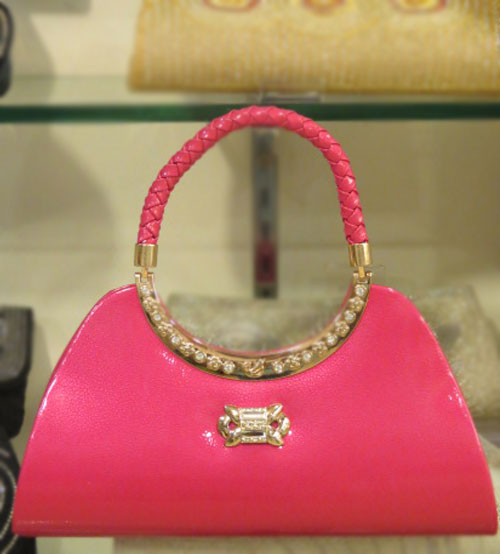 Romantic Pink Wedding Hand Bag
