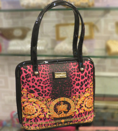 Espelho Traditional Print Ladies Hand Bag