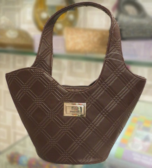 Zilleria Chocolaty Ladies Hand Bag