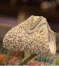Marble Stone Celebrity Wedding Clutch