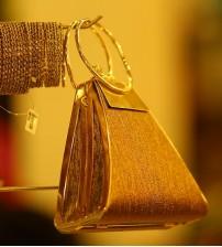 Dark Gold Women Wedding Bag