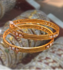 Antique Set Bangle