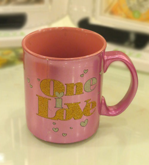 Archies One I Love Ceramic Mug