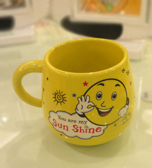 Your Mine Ceramic Yellow Mug