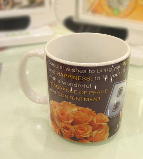 Best Wishes Ceramic Mug