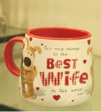 Archies Best Wife Ceramic Mug
