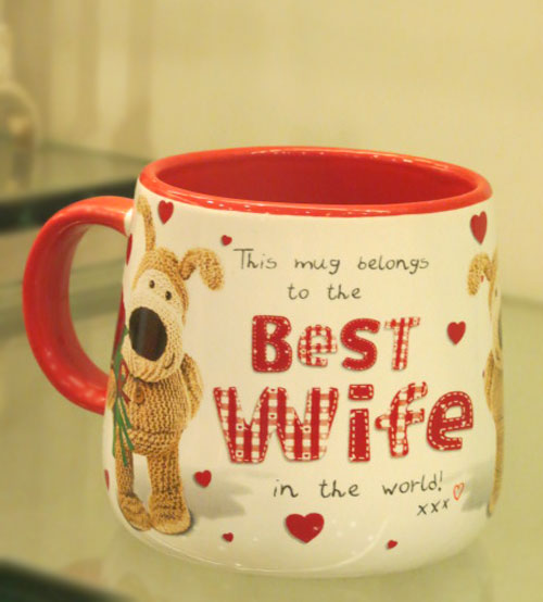 Archies Best Wife Ceramic Mug