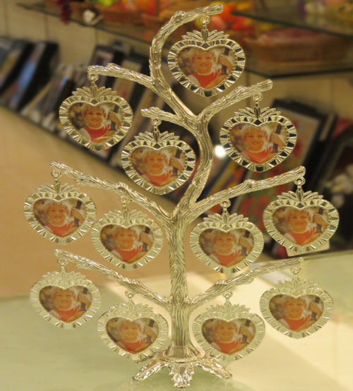 Glass Tree Generic Photo Frame