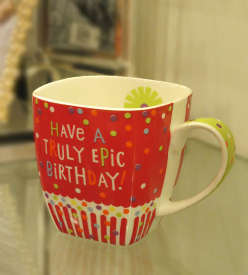 Archies Epic Birthday Ceramic Mug