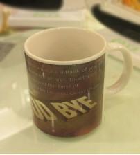 Good Bye Ceramic Mug