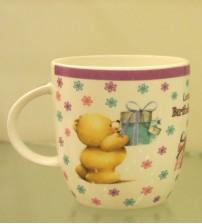 Birthday Love Printed Ceramic Mug