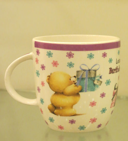 Birthday Love Printed Ceramic Mug