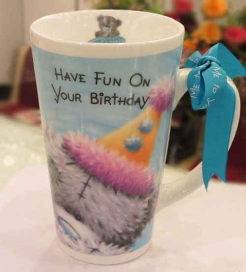 Birthday Fun Ceramic Mug