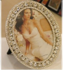Diamond Metalic Photo Frame