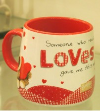 Archies Real Love Ceramic Mug