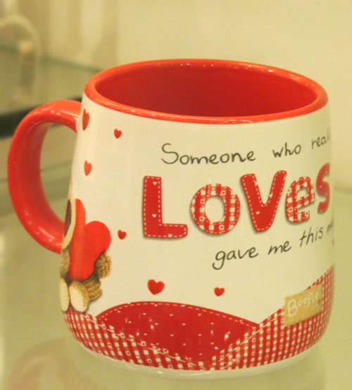 Archies Real Love Ceramic Mug
