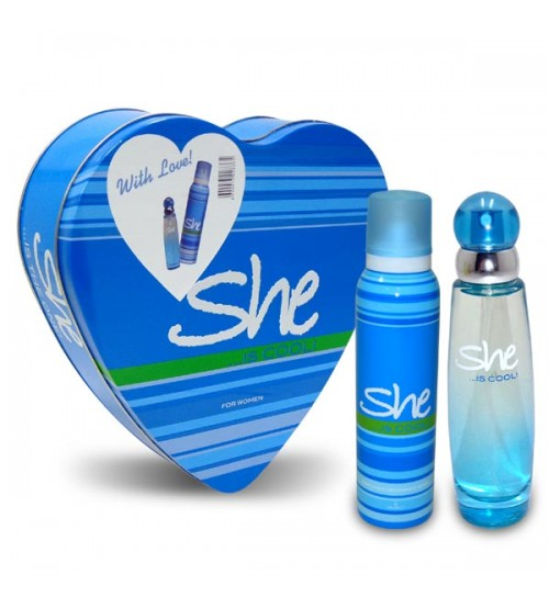 SHE IS COOL PERFUME GIFT SET